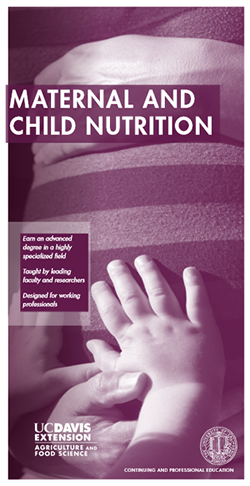 Maternal and Child Nutrition Brochure