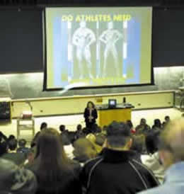 Photo - Liz Applegate Lecture